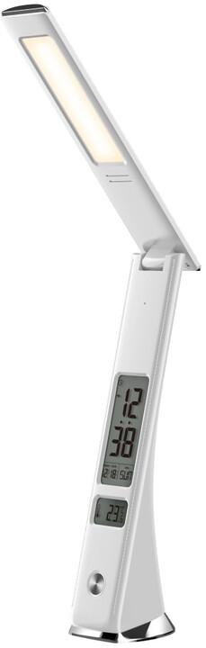 IMMAX LED stolní lampička Cuckoo 5W, 3 stupně stmívání, bílá