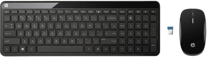 HP C6020, set klávesnice a myši, CZ