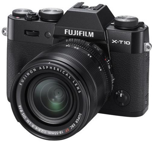 Fujifilm X-T10 + XF 18-55mm, černá