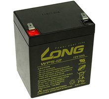 Avacom baterie Long 12V/5Ah, olověný akumulátor F2 - PBLO-12V005-F2A