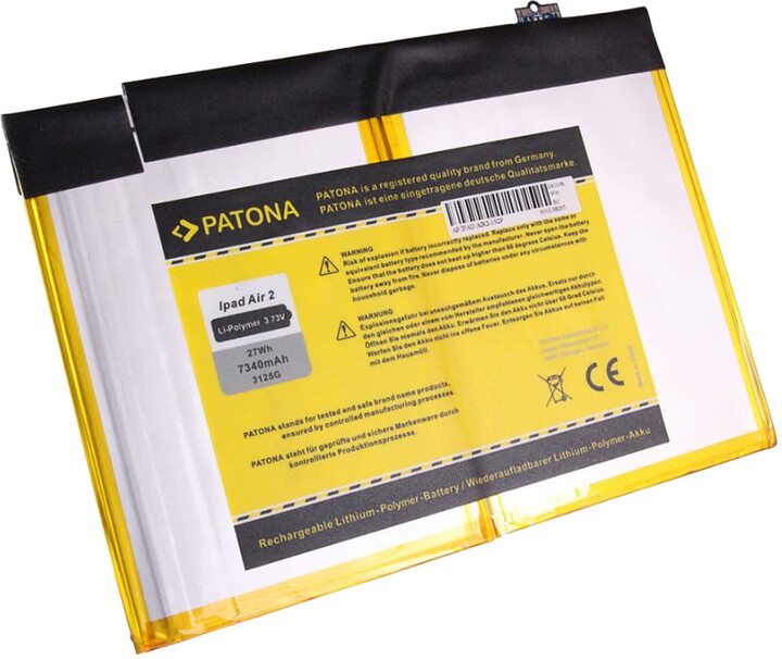 Patona baterie pro tablet PC Apple Ipad Air 2 7340mAh 3,73V Li-Ion A1547