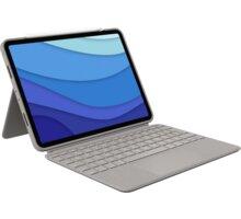 """Logitech ochranný kryt s klávesnicí Combo Touch pro Apple iPad Pro 11"""" (1., 2., 3. generace), UK, pí"""