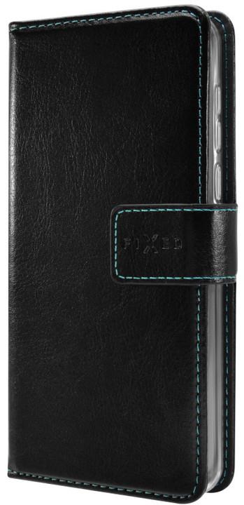 FIXED Opus pouzdro typu kniha pro Samsung Galaxy A8 (2018), černé