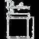 Solarix vyvazovací háček D2 80x80mm