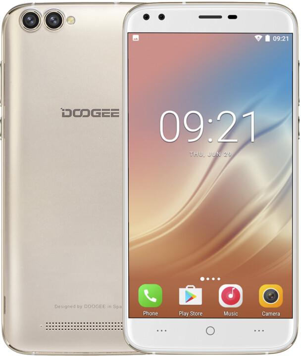 DOOGEE X30, 16GB, zlatá