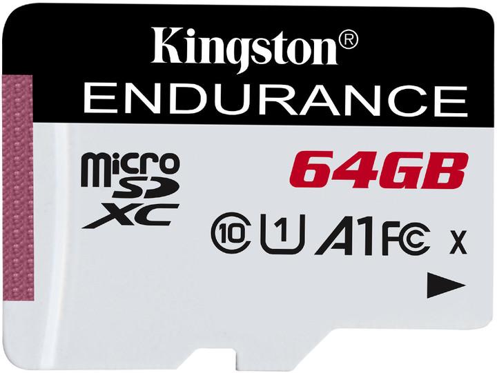 Kingston Micro SDXC 64GB Endurance UHS-I