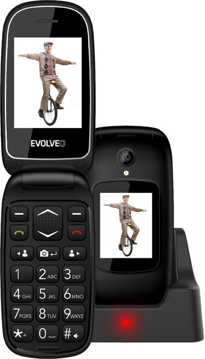 Evolveo EasyPhone FD, Black