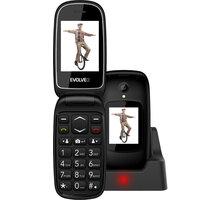 Evolveo EasyPhone FD, Black Elektronické předplatné čtiva v hodnotě 4 800 Kč na půl roku zdarma + Kuki TV na 2 měsíce zdarma