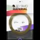 3Dsimo materiál - METAL (zlatá)