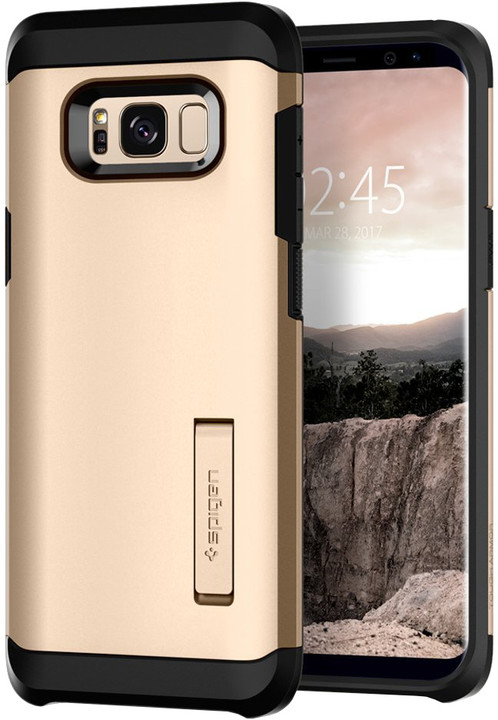 Spigen Tough Armor pro Samsung Galaxy S8, gold maple