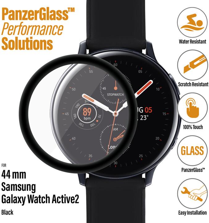 PanzerGlass SmartWatch pro Samsung Galaxy Watch Active 2 (44mm), černé celolepené