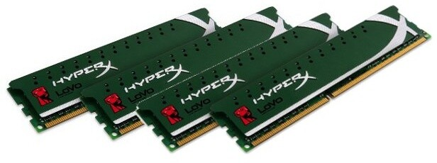 Kingston HyperX LoVo 32GB (4x8GB) DDR3 1600 XMP