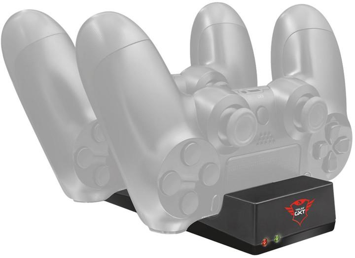 Trust nabíjecí sada GXT 235 Duo Charging Dock (PS4)