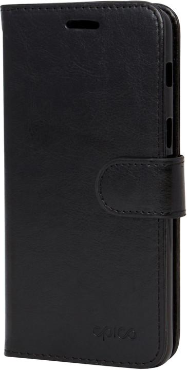 Kožené pouzdro pro Samsung S9 EPICO FLIP - černé