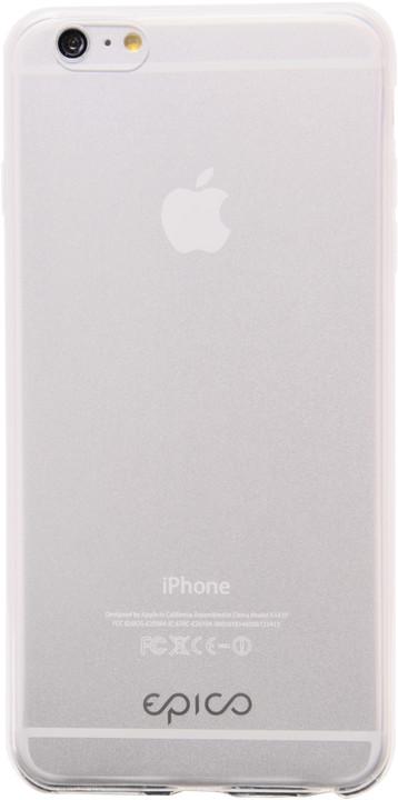 EPICO pružný plastový kryt pro iPhone 6/6S EPICO TWIGGY GLOSS - čirá bílá