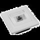 Solarix zásuvka CAT6 STP 1 x RJ45 pod omítku bílá SX9-1-6-STP-WH