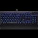 Corsair Gaming K70 LUX, modré LED, černá