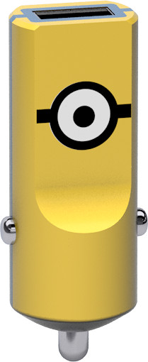 Tribe Minions Carl nabíječka do auta - Žlutá