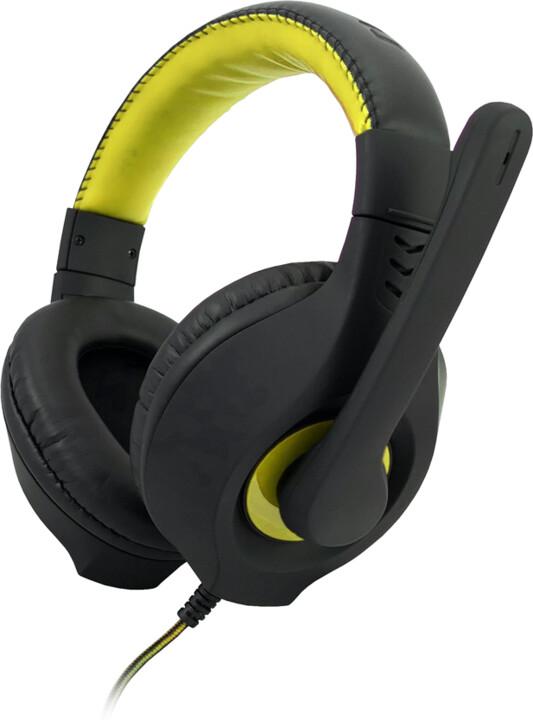 C-TECH Nemesis V2 GHS-14Y, černá/žlutá