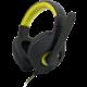 C-TECH Nemesis V2 GHS-14Y, černá/žlutá  + Mikrofon C-TECH MIC-01 v ceně 250 Kč