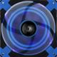AeroCool Dead Silence Blue Edition, 140 mm