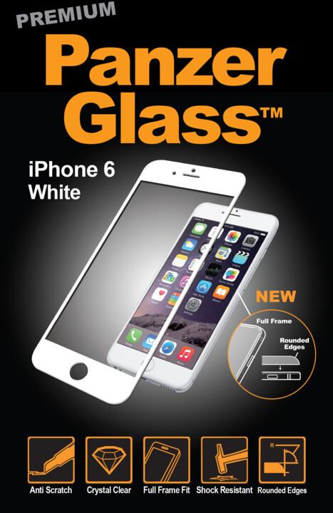 PanzerGlass Premium pro Apple iPhone 6/6s Plus, bílé