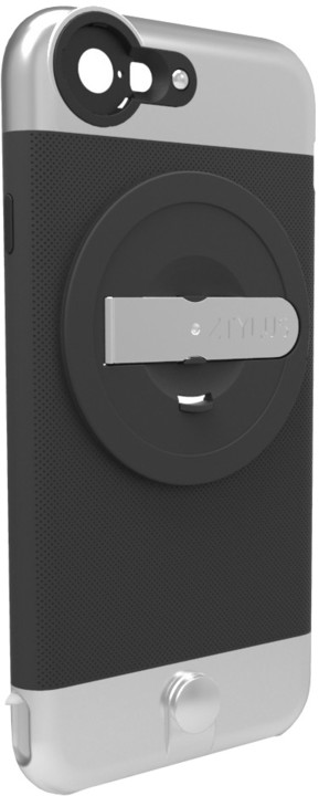 Ztylus Metal kryt se stojánkem pro iPhone 6/6S, černý