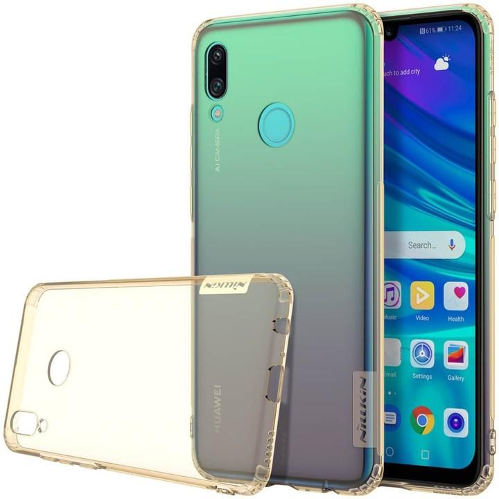 Nillkin Nature TPU pouzdro pro Huawei P Smart 2019, zlatohnědá