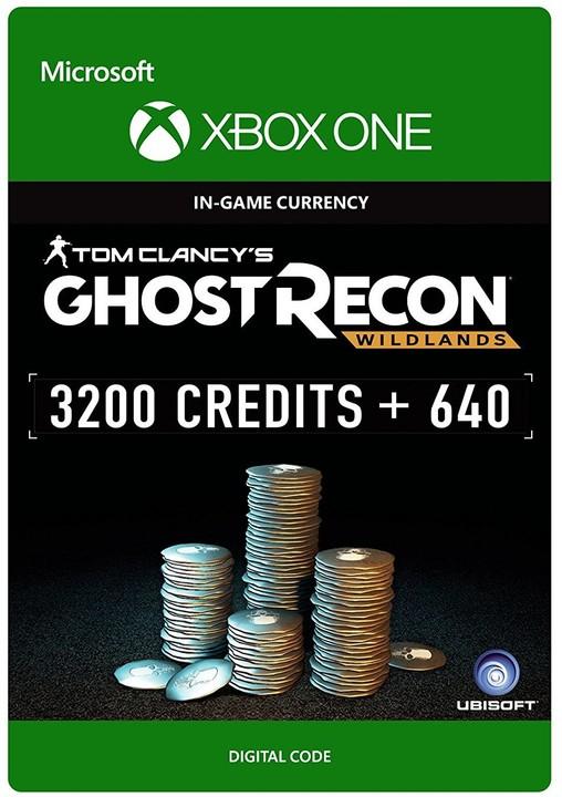Tom Clancy's Ghost Recon Wildlands 3840 GR Credits (Xbox ONE) - elektronicky