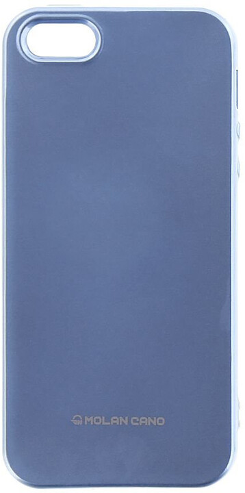 Molan Cano Jelly TPU Pouzdro pro iPhone X, nebesky modrá