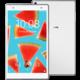 Lenovo TAB4 8 PLUS - 16GB, LTE, bílá  + T-mobile Twist Online Internet, SIMka / microSIMka s kreditem 200 Kč)