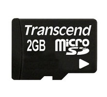 Transcend Micro SD 2GB