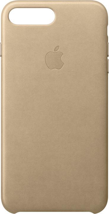 Apple Kožený kryt na iPhone 7 Plus/8 Plus – žlutohnědý