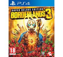 Borderlands 3 - Super Deluxe Edition (PS4)  + Tričko Borderlands 3 (L) v hodnotě 399 Kč