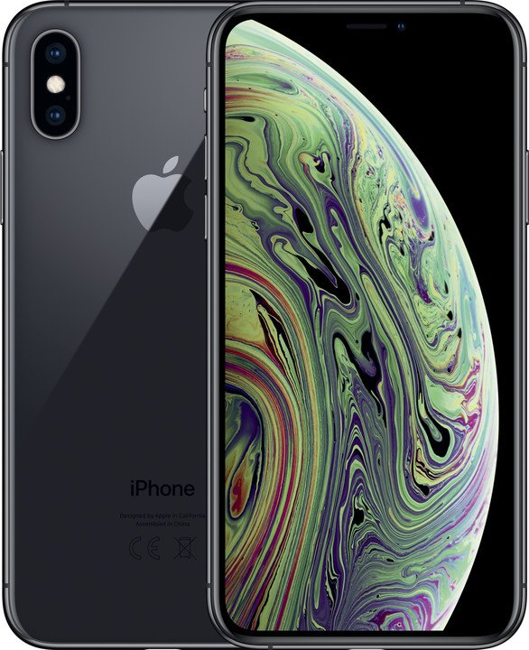 Apple iPhone Xs, 256GB, šedá