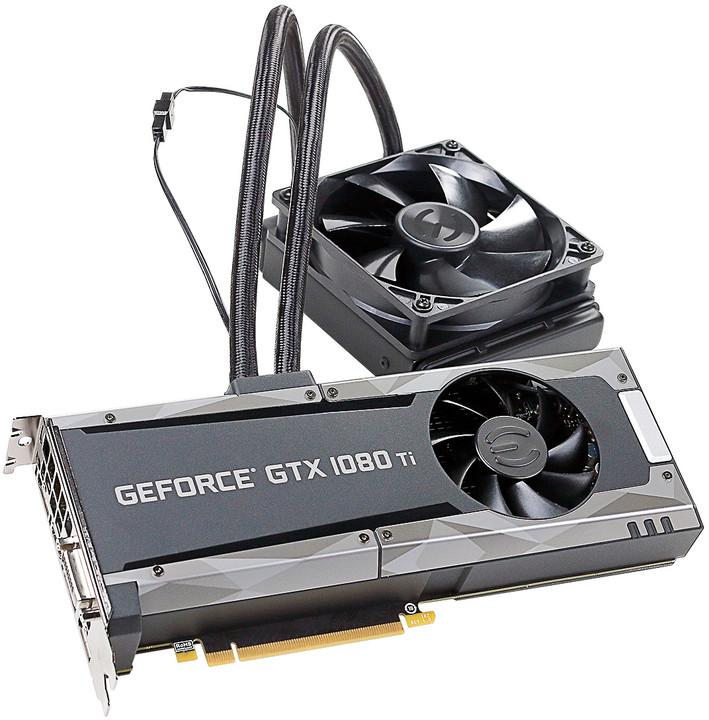 EVGA GeForce GTX 1080 Ti SC2 HYBRID GAMING, 11GB GDDR5X