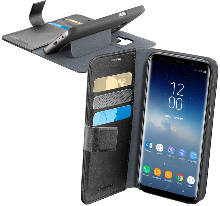 CellularLine Book Agenda pouzdro typu kniha pro Samsung Galaxy S9, černé