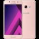 Samsung Galaxy A3 2017, růžová  + Aplikace v hodnotě 7000 Kč zdarma + Cashback 1500 Kč