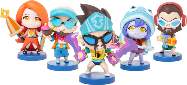Figurky League of Legends - Pool Party Set