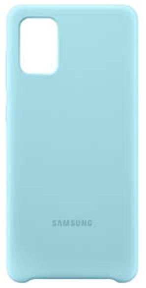 Samsung silikonový zadný kryt pro Samsung Galaxy A71, modrá