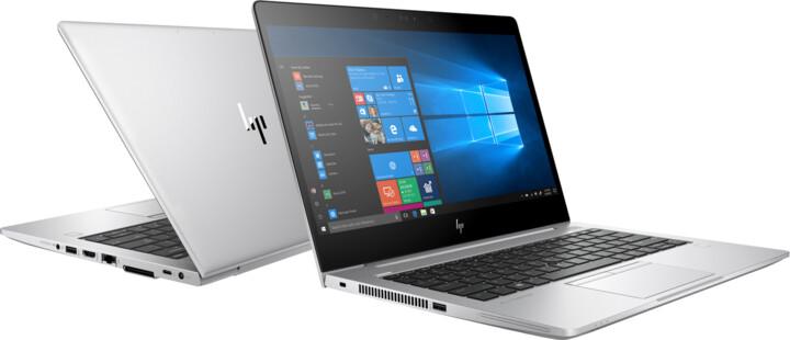 HP EliteBook 830 G5, stříbrná