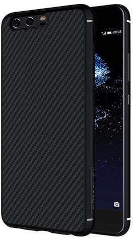 Nillkin Synthetic Fiber Ochranný Zadní Kryt Carbon pro Huawei P10, Black