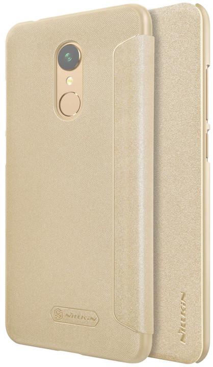Nillkin Sparkle Folio pouzdro pro Xiaomi RedMi 5, Gold