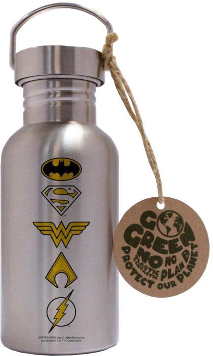 Láhev na pití EKO - DC Comics: Loga, nerez