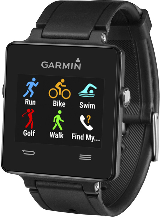 Garmin Vivoactive, HR Premium, černá