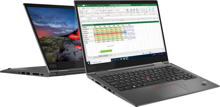 Lenovo ThinkPad X1 Yoga Gen 5, šedá