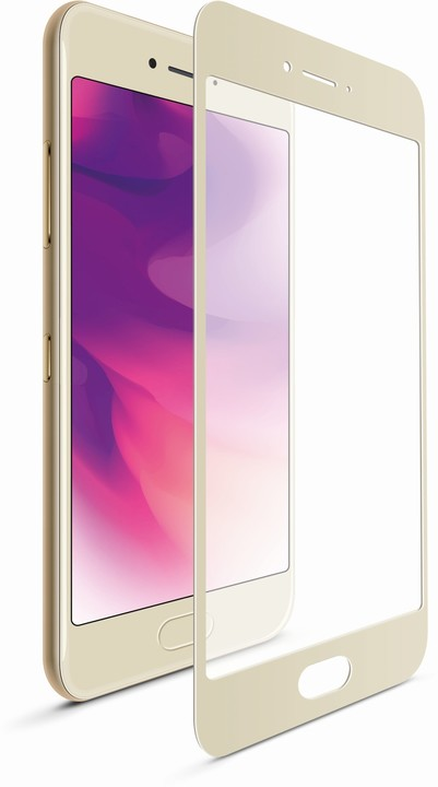 FIXED Ochranné tvrzené sklo pro Samsung Galaxy A3 (2017), zlaté