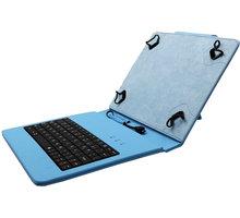 """C-TECH PROTECT NUTKC-02, pouzdro s klávesnicí pro 8"""", modrá - NUTKC-02L"""