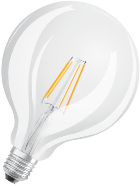 Osram LED Filament STAR Globe 125 4,5W 827 E27 noDIM A++ 470lm 2700K