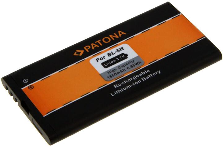 Patona baterie pro Nokia BL-5H 1850mAh 3,7V Li-lon